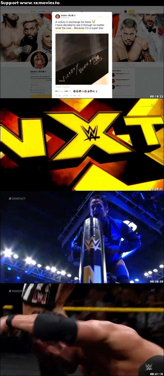 WWE NXT 30 August 2017 WEBRip 480p 200mb