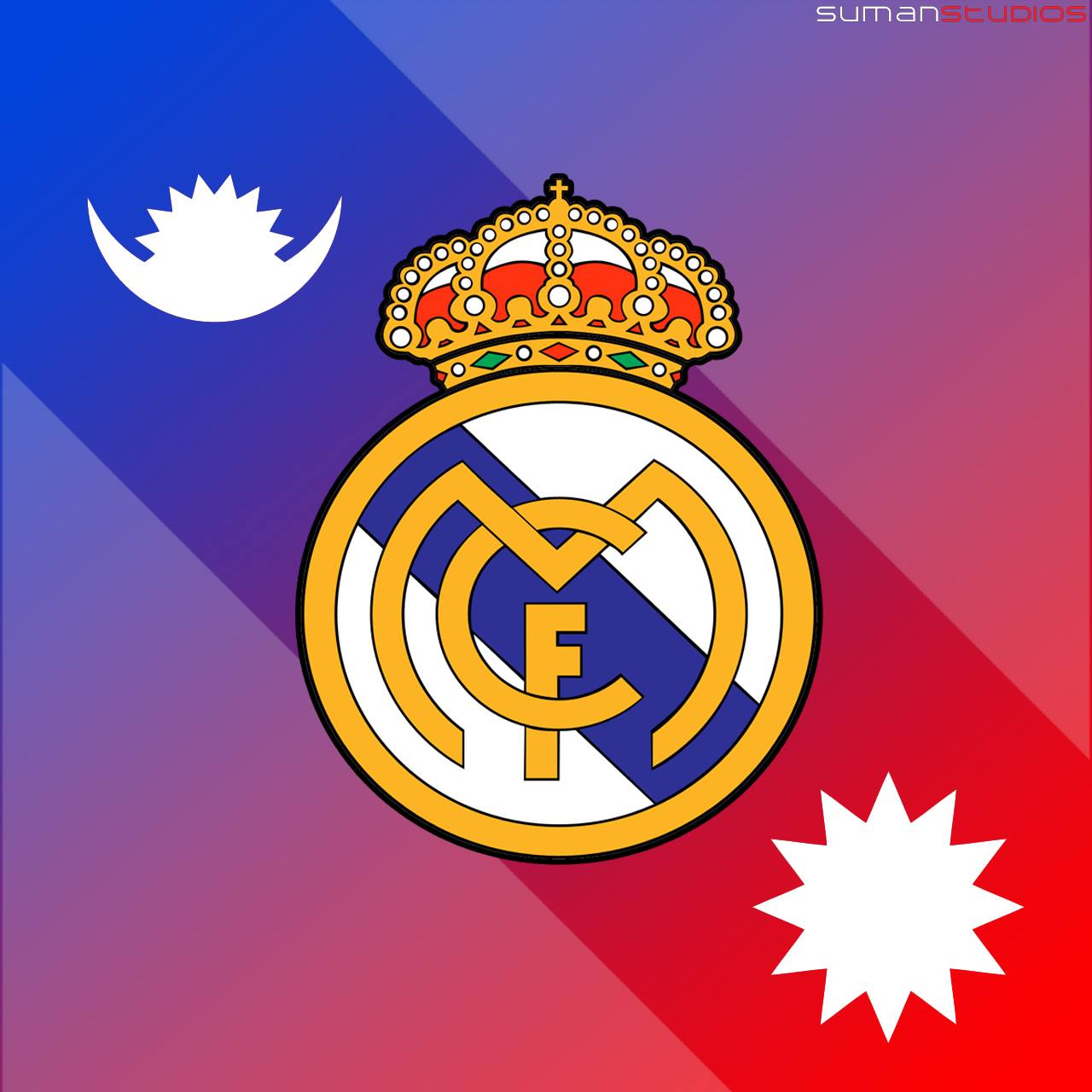 SumanStudios: Real Madrid FC Nepal Logo Wallpaper by ...