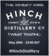 Hinch Distillery Tweet Tasting