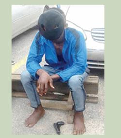 Lagos Driver Armed With Toy Gun, Condoms, Demands To See His Master's Wife... & This Happened