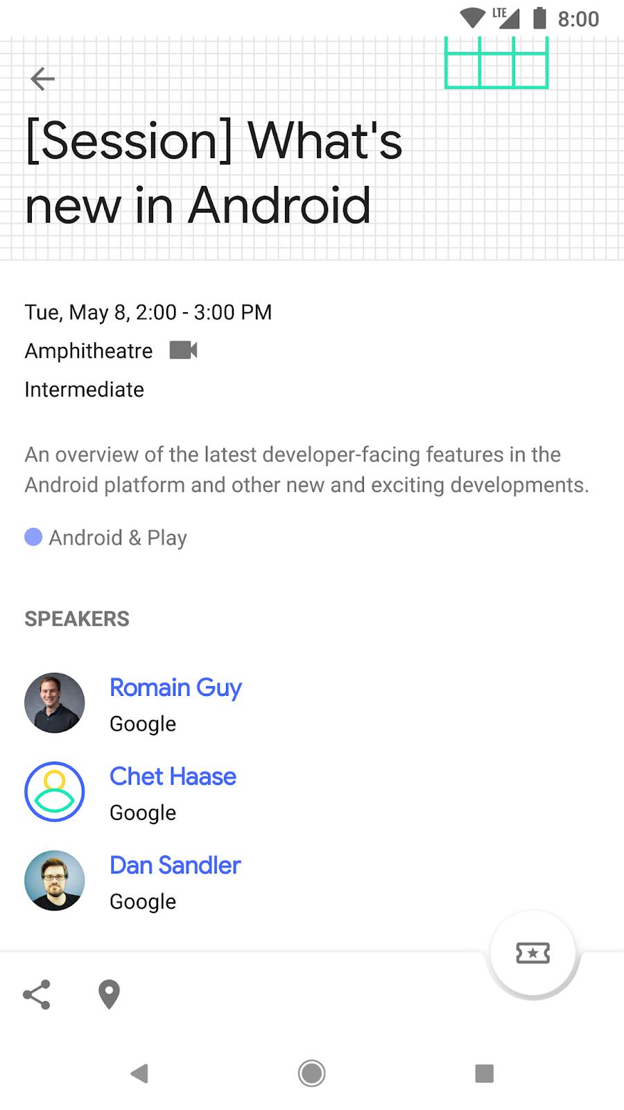 Google Developers Blog: Install the Google I/O 2018 App and