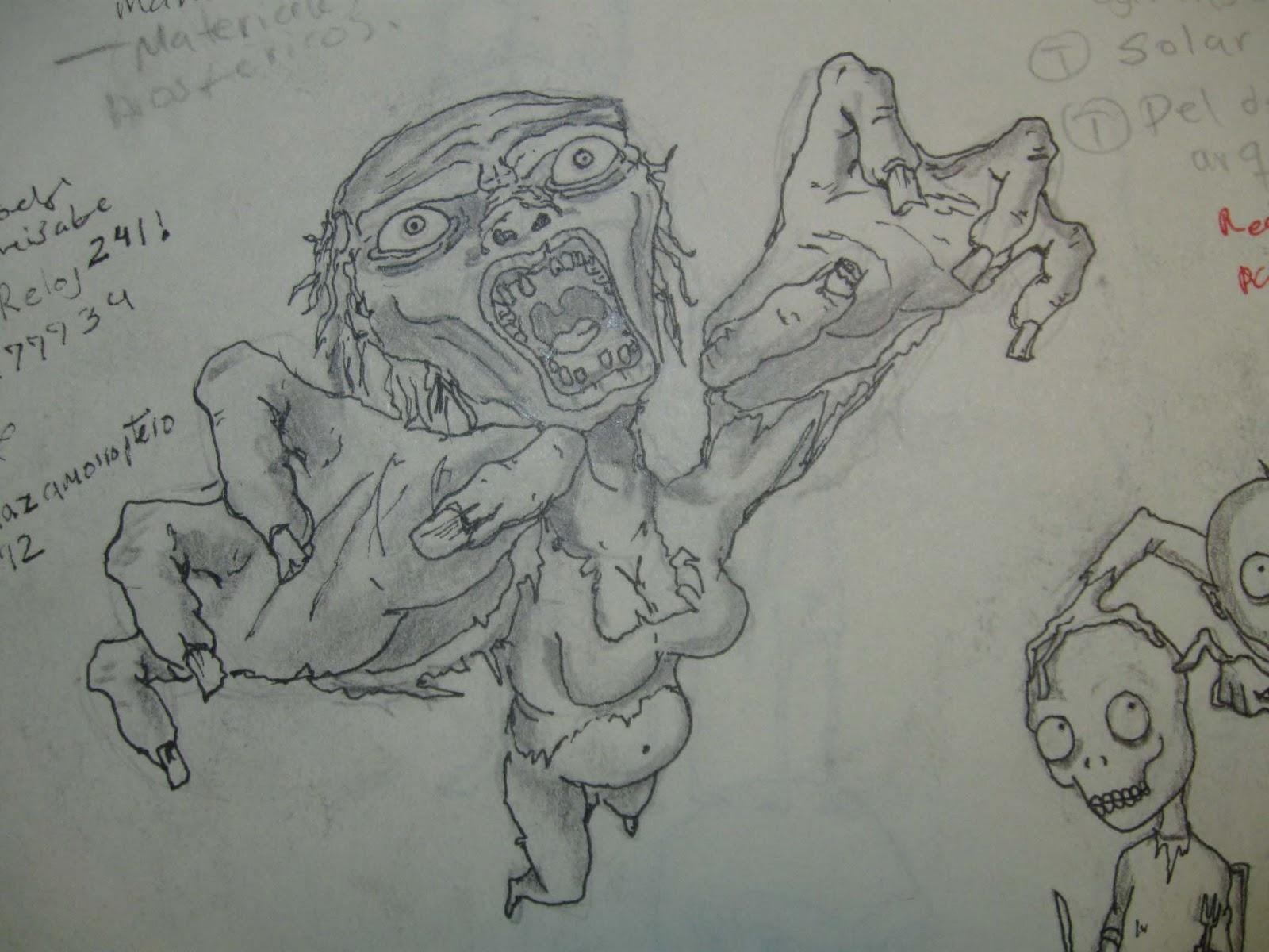 Dibujos Del Tiempo Libre: The Walking Dead