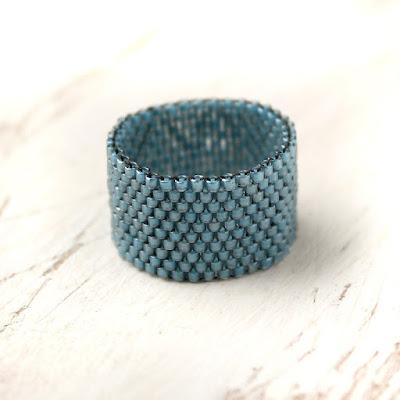 стильные кольца купить широкое синее кольцо минимализм купить