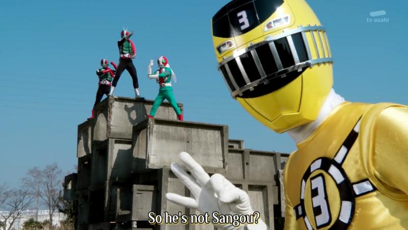 Phim Kamen Rider 4