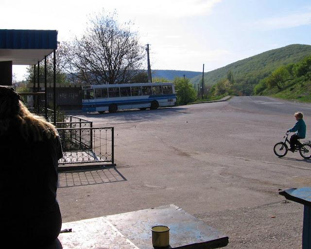Терновка, автобусная остановка