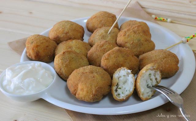 Nuggets de pescado caseros. Julia y sus recetas