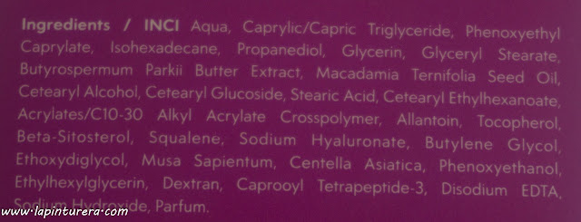 crema timeless ingredientes