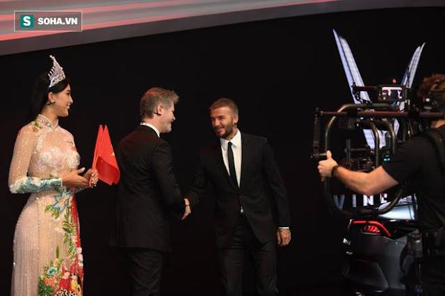 David Beckham và Hoa hậu Trần Tiểu Vy