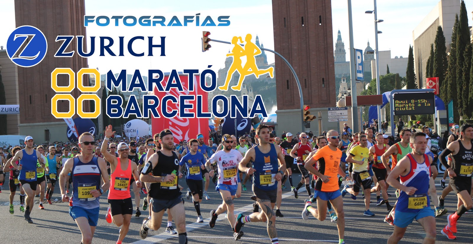 Fotografías Zurich Marató Barcelona 2019