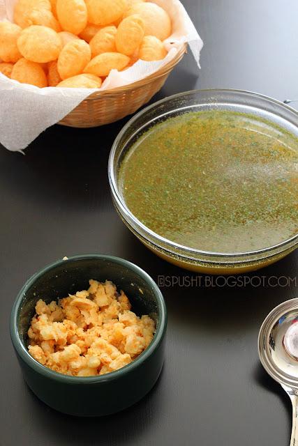 Spusht | Yummy Indian Chaat: Pani Puri