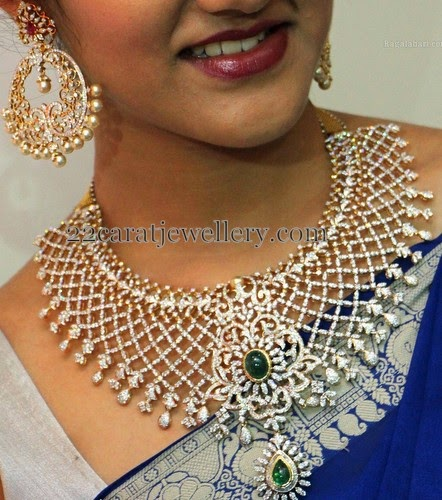 Simran Indian Diamond Wedding Sets Jewellery Designs