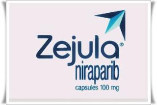 opinii ema ZEJULA niraparib tratament nou cancer ovarian