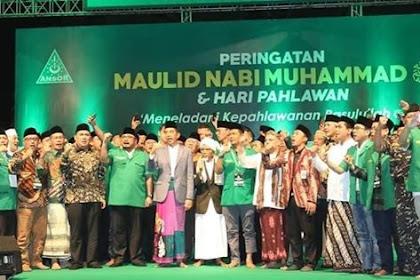 Di Depan Ratusan Ribu Ansor - Banser, Jokowi Ajak Hijrah