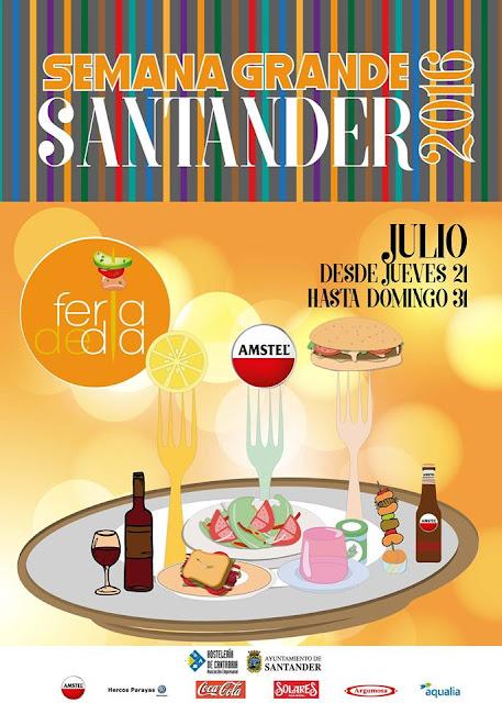 Feria de D�a en la Semana grande de Santander 2016