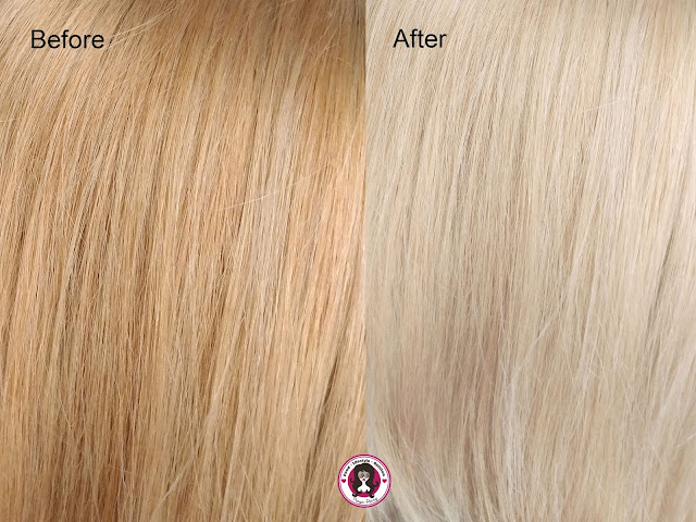 Wella Color Charm T18 Before and After