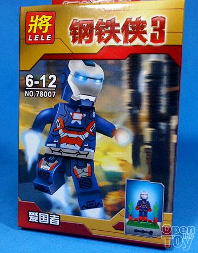 Bootleg LEGO Iron Patriot