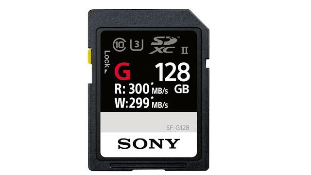 Sony SF-G128: The fastest SD memory card in the world