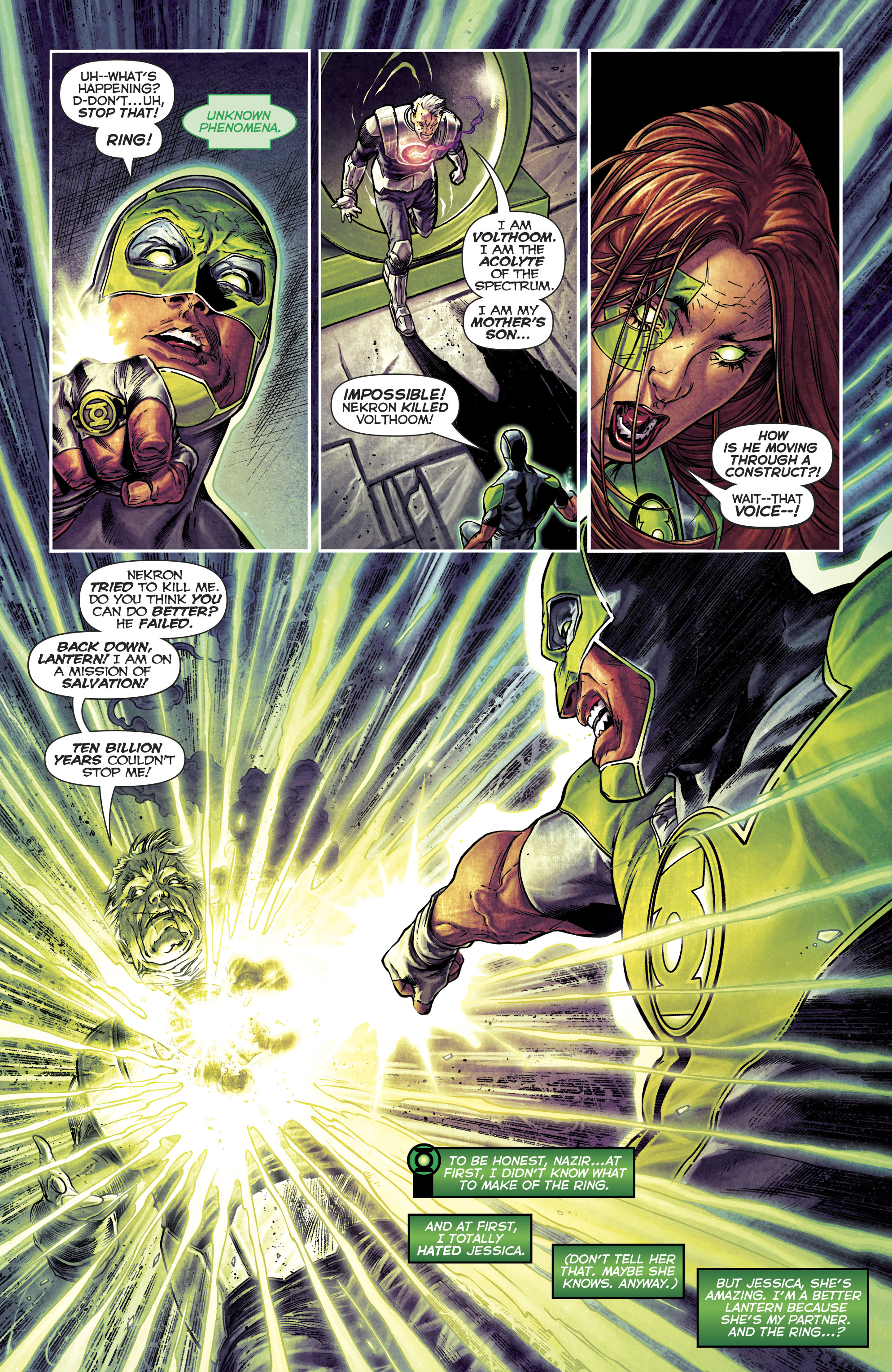 Read online Green Lanterns comic -  Issue #25 - 23