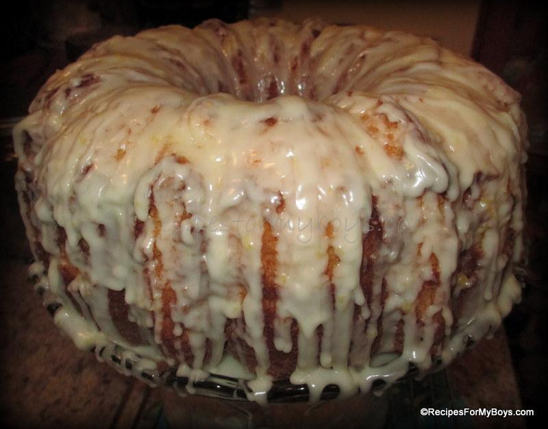 Recipe For Pecan Sour Cream Pound Cake