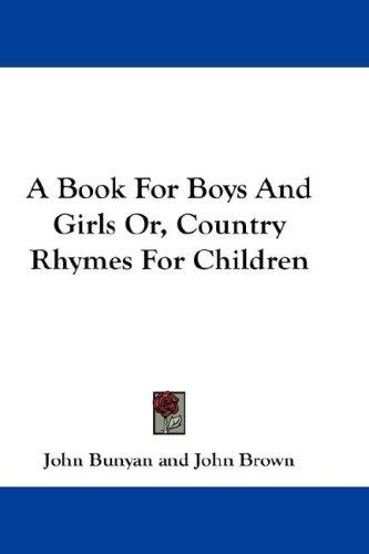 Various Authors-A Book For Boys And Girls-
