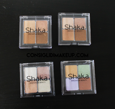 Review: Palette Contouring, Correcting, Strobing - Shaka