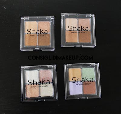 opinioni palette contouring correcting strobing shaka