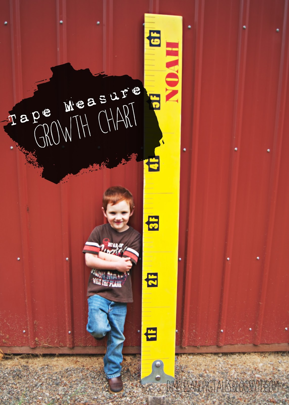 Tape Measure Growth Chart