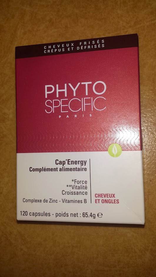 Cap Energy Complément alimentaire by PHYTO SPECIFIC ~ My Curly Kinky Hair