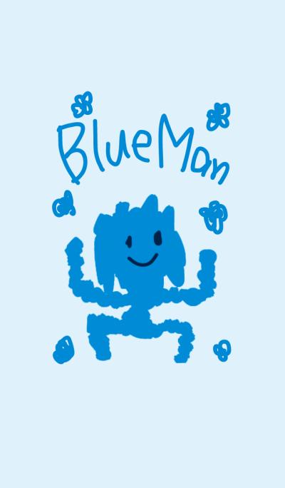 BLUE MAN!!!