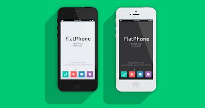 telecharger gratuit iphone 5 flat mock up agence communication