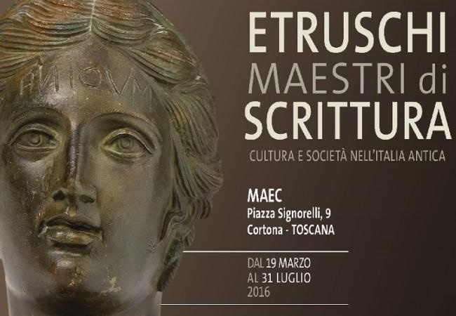 'The Etruscans: Masters of Writing' at Maec of Cortona