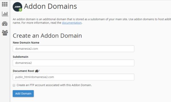 Cara Membuat 2 Domain atau Lebih Dalam 1 Hosting