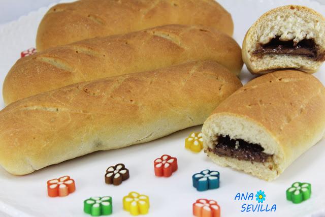 Bollycaos de pan casero. Ana Sevilla Cocina tradicional
