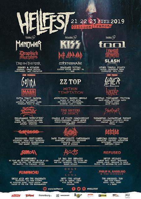 France Hellfest Open Air Lineup