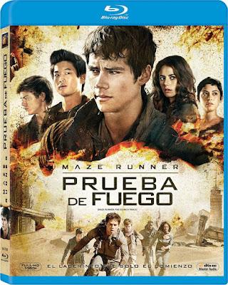 Maze Runner Prueba De Fuego Full 1080P Latino