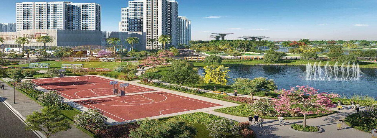 Cụm sân thể thao Vinhomes Grand Park