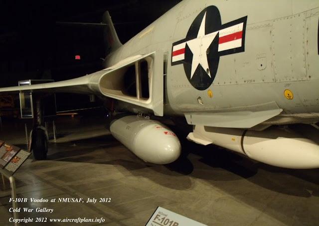 F-101B Voodoo intake detail