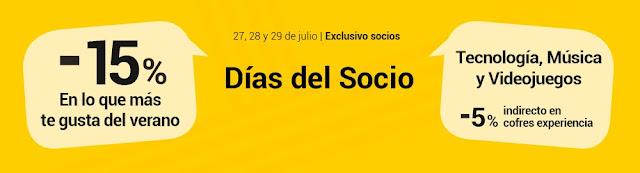 Días del Socio de Fnac julio 2017