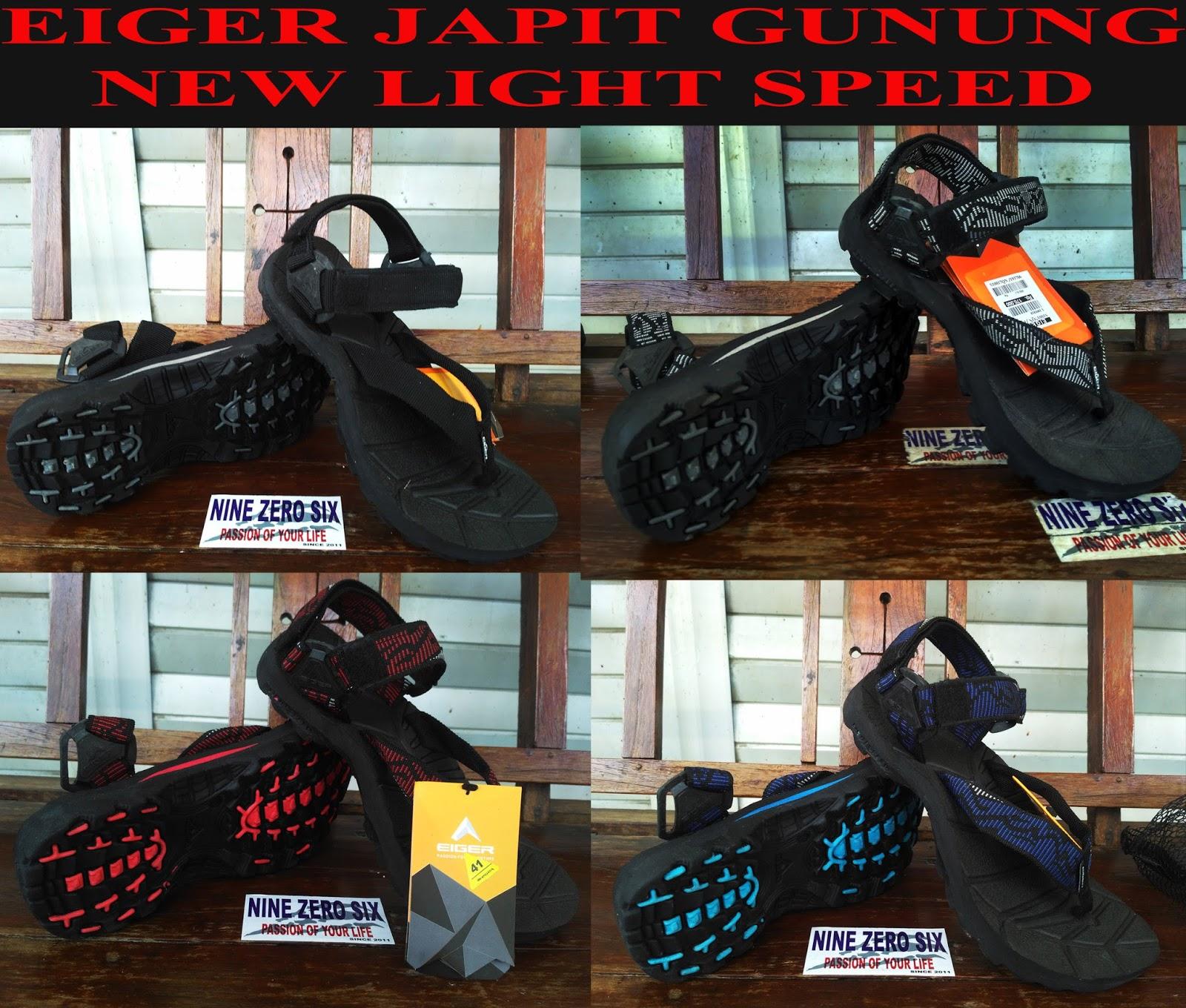 SANDAL EIGER JAPIT GUNUNG NEW LIGHT SPEED CROSSBAR BLACK SERIES