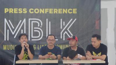 PRESS CONFERENCE KICK OFF MUDIK BARENG LINTAS KOMUNITAS TAHUN 2020