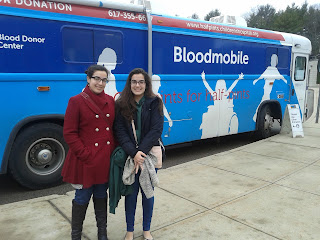 Giovanna and Olivia Sabini-Leite, seniors at Franklin High School, are coordinating the blood drive March 4