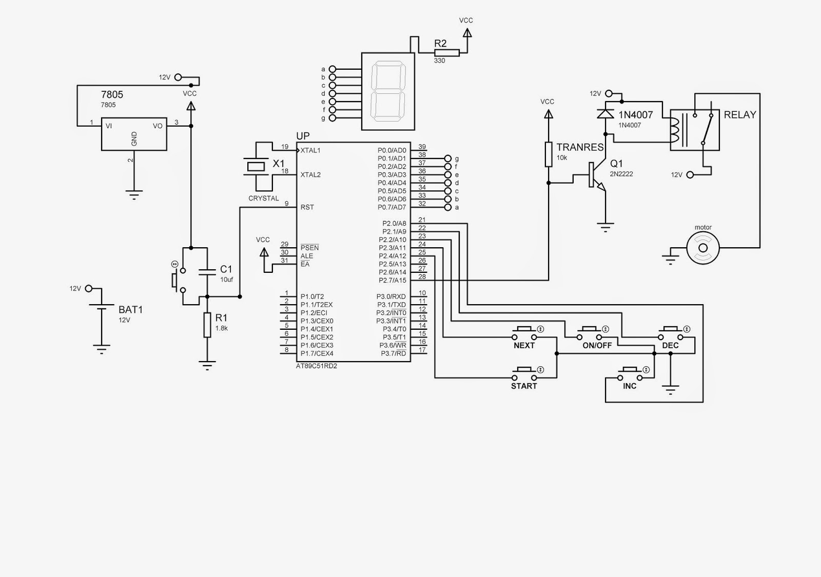 There is always something to learn: MICRO CONTROLLER BASED