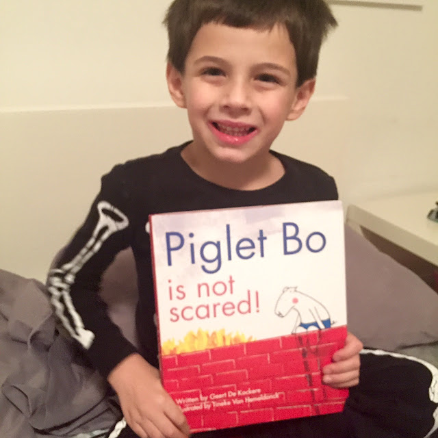 Reading Corner: Piglet Bo Is Not Scared!