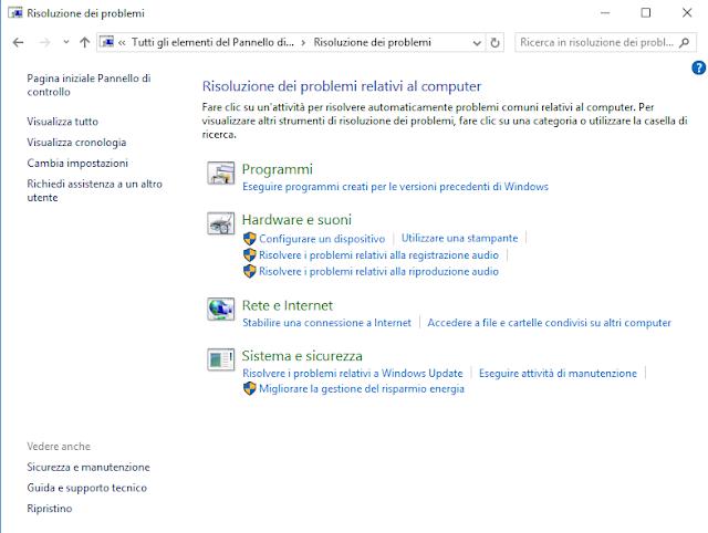 Windows, Risoluzione dei problemi