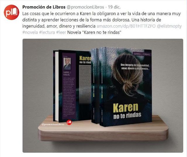 Promoción de libros de Gabriel J. Perea R. Editorial Amazon.com