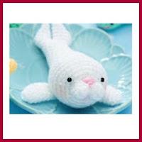 León marino amigurumi
