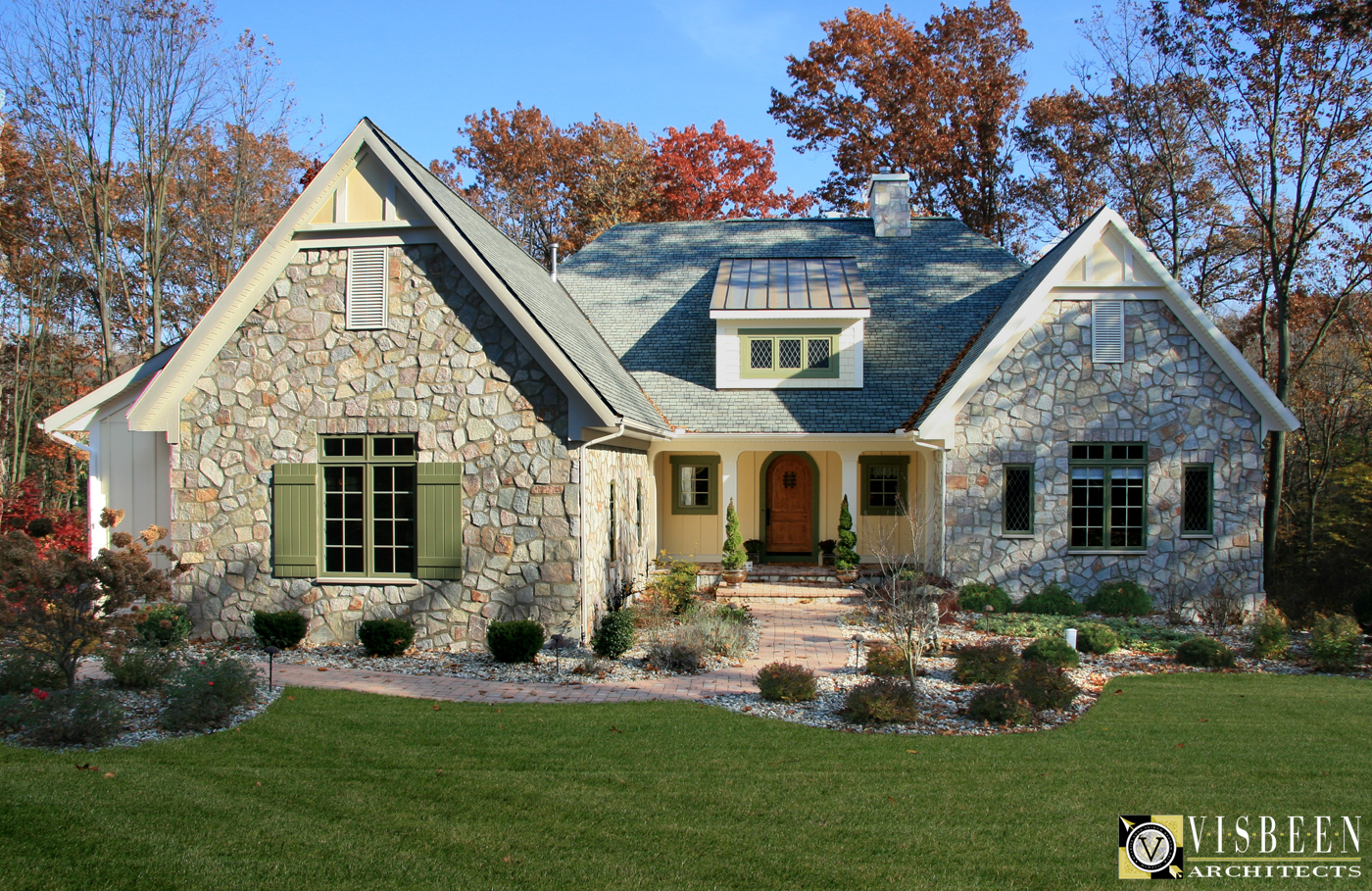 One level french country home plans - Home design and style