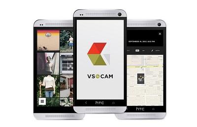 aplikasi kamera VSCO Cam