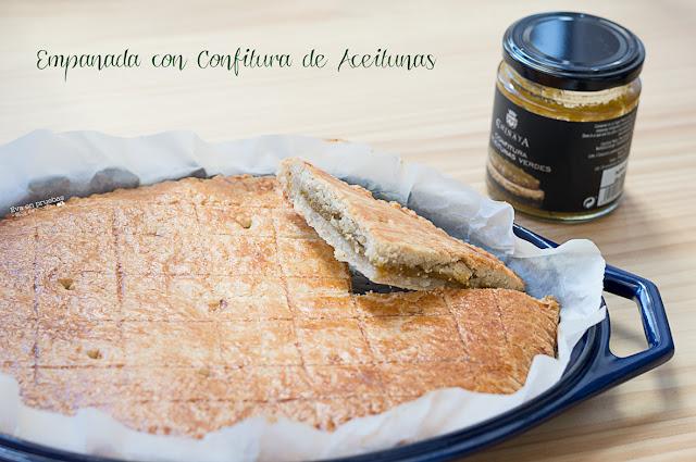 Empanada con Confitura de Aceitunas Verdes / Eva en pruebas