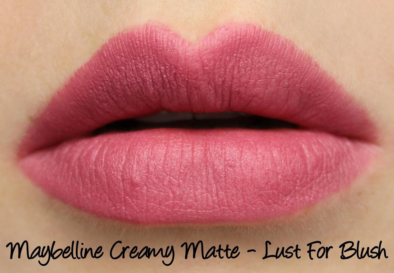 Maybelline Colorsensational Creamy Matte Lipsticks - Lust -9134